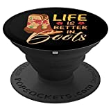 Country 2018 I Country Roads Gift Ideas I Cowboy Accessories PopSockets Grip and Stand for Phones and Tablets