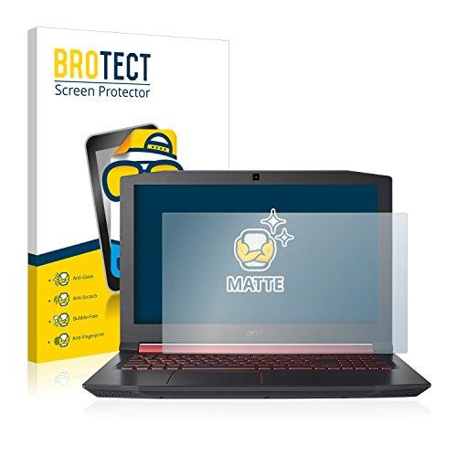 BROTECT Entspiegelungs-Schutzfolie kompatibel mit Acer Nitro 5 Bildschirmschutz-Folie Matt, Anti-Reflex, Anti-Fingerprint