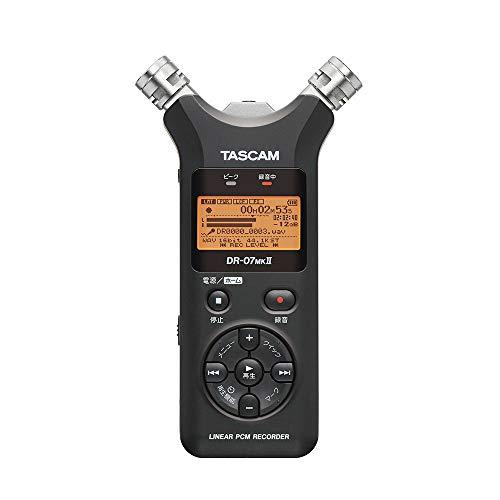 TASCAM タスカム/DR-07MK II VER2 リニアPCMレコーター