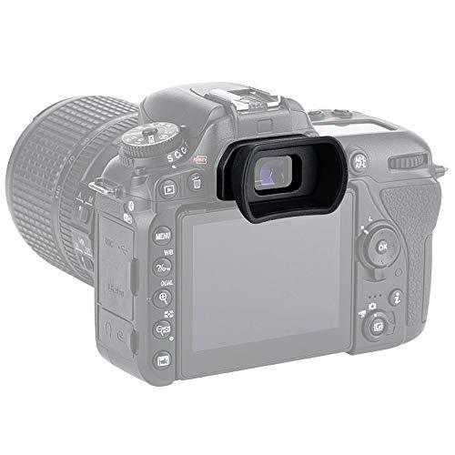 PROfezzion Visor Ocular Silicona Suave de Largo y Extendido para Nikon D7000 Series, D5400...