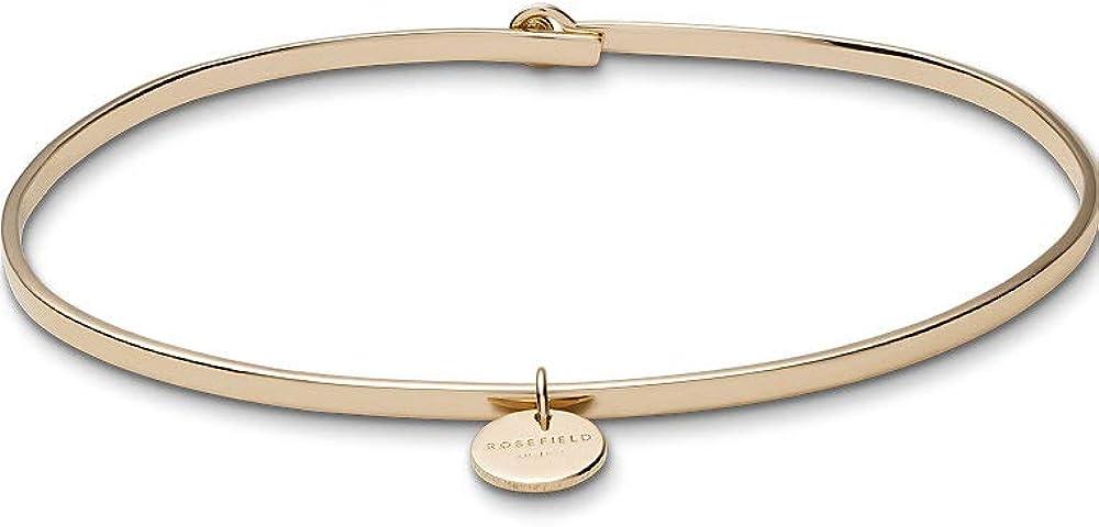 Rosefield, bracciale,  bangle per donna, in argento stearling 925, placcato oro JWOGM-J016