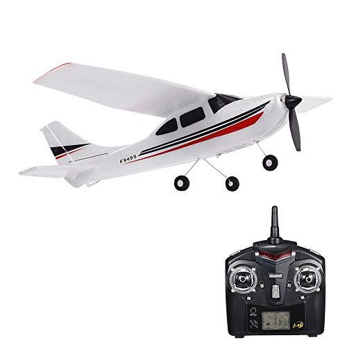 GoolRC F949S Avión RC Wltoys Aeronave Airplane 2.4G Plane RC Aeronave Aircraft 3CH Remote Control EPP Airplane Miniature Model Plane Juguete Interior al Aire Libre 1 Batteries