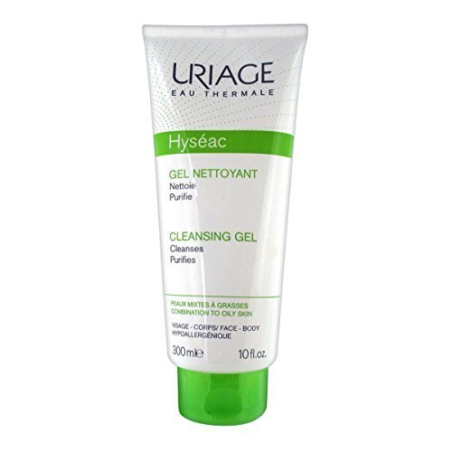 Uriage Hyseac Gel Nettoyany Doux Gentle Cleansing Gel for Combination to Oily Skin 150 Ml by Uriage