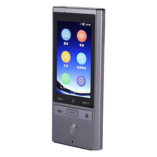 Mugast Mehrsprachiger Echtzeit Übersetzer,WiFi GPS Bluetooth 75 Sprachen Intelligent Sprachübersetzer für Reisen im Ausland 8 Sprachen Offline Übersetzung für Android 6.0 Betriebssystem