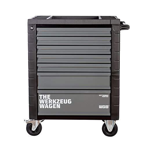 Werkstattwagen leer | 7 Schubladen | No.145 | stabile Stahlblechkonstruktion | WGB