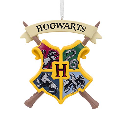 Hallmark Christmas Ornaments, Harry Potter Hogwarts Crest Ornament