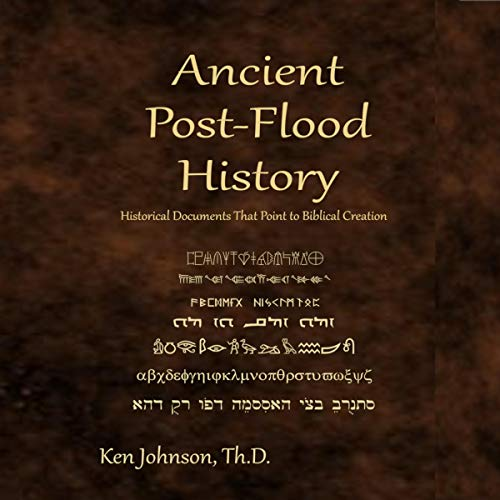 Ancient Post-Flood History audiobook cover art
