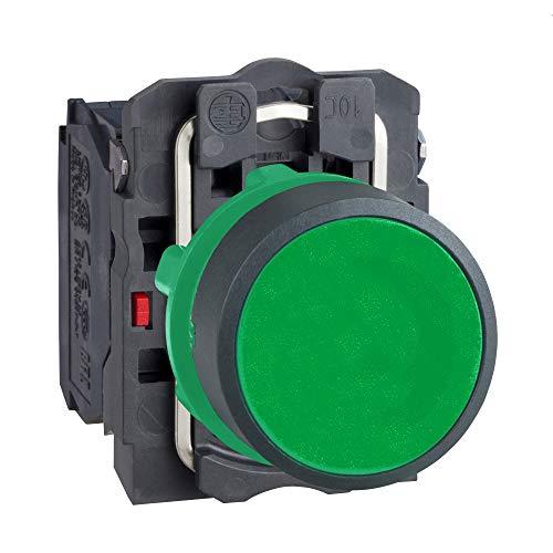 Harmony XB5AA35 - Pulsador de presión (22 mm de diámetro), color verde