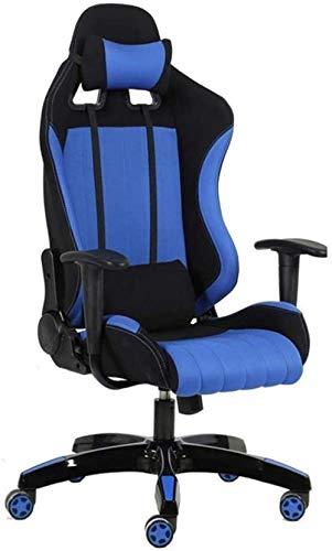Silla para juegos MHIBAX, sillas de comedor, silla para juegos, silla de ordenador de oficina de carreras, silla giratoria con respaldo alto, sillón deportivo electrónico para of