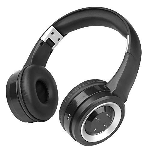 Fontastic Bluetooth On-Ear Kopfhörer Boom Schwarz/Silber