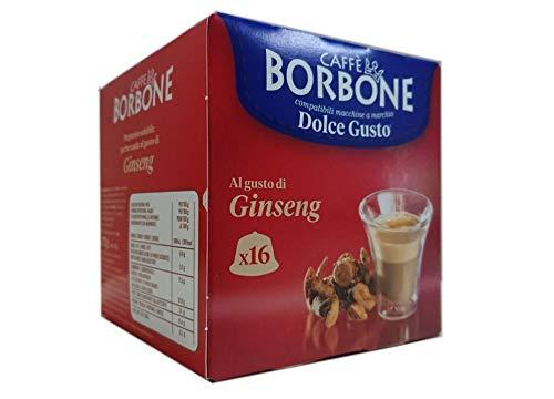 64 Capsule Comp. Dolce Gusto - Ginseng 4x16 - Caffè Borbone