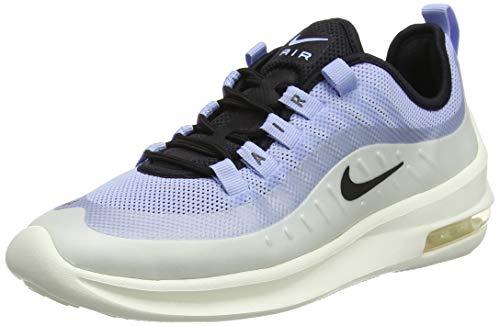 Nike Air MAX Axis, Zapatillas de Running Mujer, Multicolor (Aluminum/Black/Sail/Metallic Silver 400), 44 EU