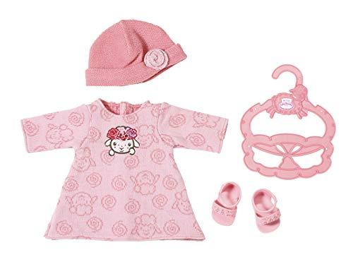Baby Annabell 701843 Kleines Strickkleid 36cm, rosa