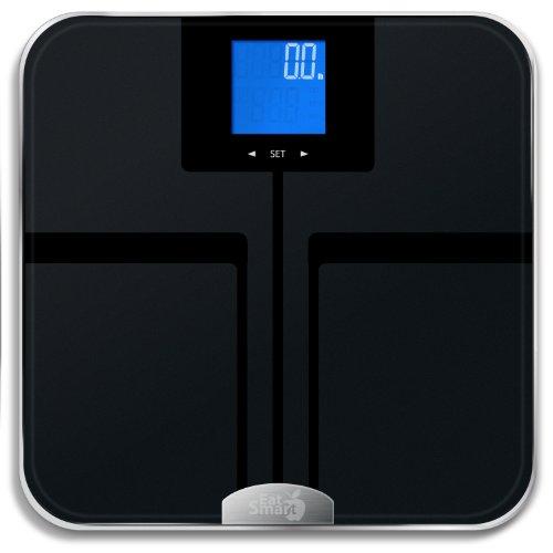 EatSmart Precision Getfit Digital Body Fat Scale with Auto Recognition...
