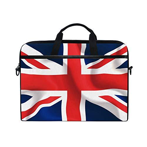 CPYang Laptop Bag UK Flag Union Jack Computer Laptop Case Notebook Laptop Shoulder Messenger Bag Sleeve for Boys Girls Women Men