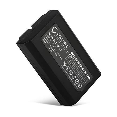 CELLONIC® Batería Premium Compatible con Nikon Coolpix 4300 Coolpix 4500 Coolpix 4800 Coolpix 5000 Coolpix 5400, Konica Minolta DiMAGE A200, EN-EL1,NP-800 750mAh EN-EL1 bateria Repuesto Pila