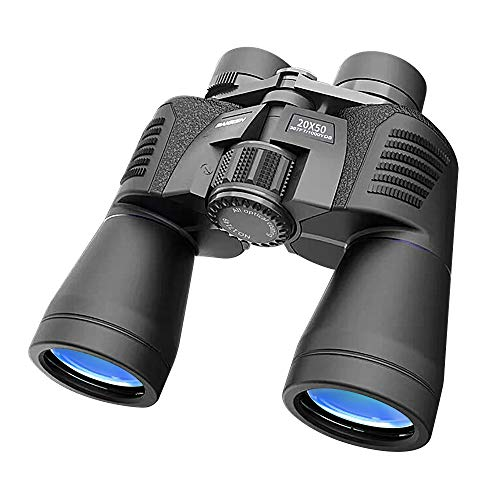 20x50 Binoculars for Adults, HD Professional/Waterproof Fogproof Binoculars with Low Light Night Vision, Durable and Clear FMC BAK4 Prism Lens, for Birds Watching Hunting Traveling Outdoor Sports