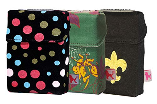 smokeshirt Big XL versch. 3er Sets Angebot. Designer Zigaretten-etui Zigaretten-Box Hülle für Zigarettenschachteln (23-25 Zig.) 3 zum Preis für 2 (So Pretty, Flower Garden, Royal Lily)