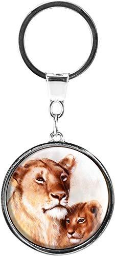 metALUm Llavero de Metal/Animales Salvajes/Pumas / 6601365
