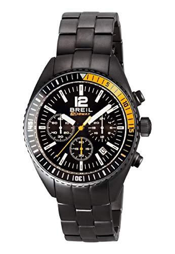 Orologio BREIL per uomo MIDWAY con bracciale in acciaio, movimento CHRONO QUARZO