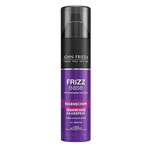 John Frieda Frizz Ease Regenschirm Haarspray - 1er Pack (1 x 250 ml) - 24h-Schutz vor Feuchtigkeit - Hairspray für widerspenstiges Haar - mit Keratin