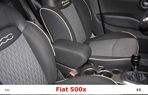 Bracciolo Fiat 500X (Tessuto Grigio Antracite)