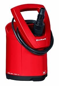 Einhell 4170666 GE-SP 750 LL - Bomba de aguas sucias (750W, capacidad de 15.000 l/h, profundidad max. de inversión 5m)