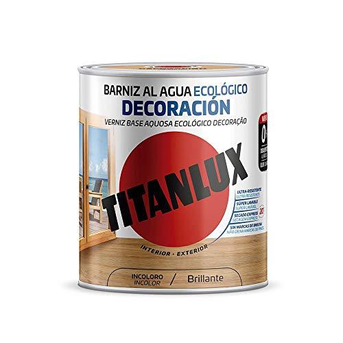 Titanlux - Barniz Ecológico Brillante para madera (250 ml,