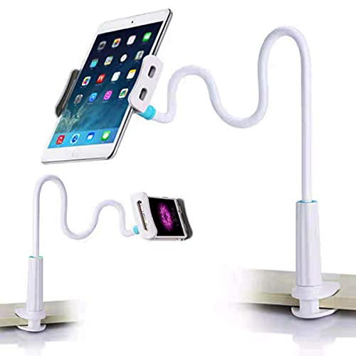 Eastor Schwanenhals-Tablet-Halterung, Handyhalterung, Universal-Tisch-Telefonhalterung,Telefone mehr 4-10,5 Zoll Geräte