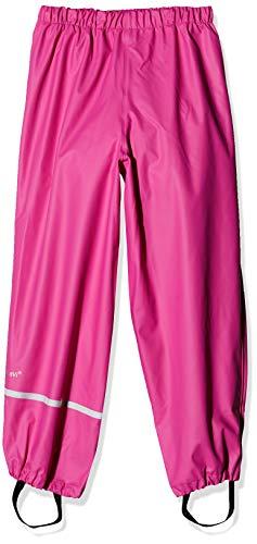 Celavi Rainwear Pants-Solid Pantalon De Pluie, Rose (Real Pink), 70 cm Fille