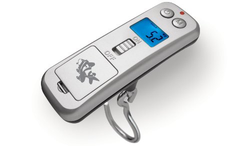 ifly Digital Luggage Scale; Compact, Lightweight, Portable Handheld Digital Luggage Scale, 50kg Capacity - Silver - IHS009