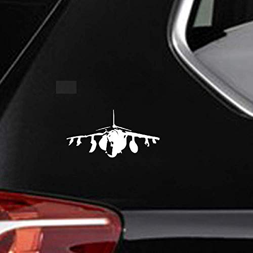 15.6Cmx8.1Cm coolste vliegtuigen vliegen militaire Dazzling Decal interessante auto Sticker voor auto Laptop Window Sticker