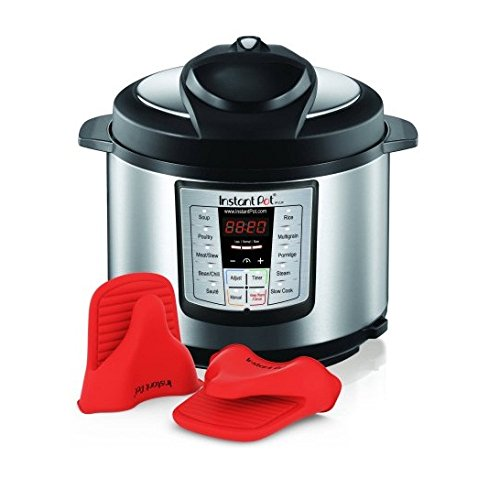 Instant Pot IP-LUX60-ENW-MM Stainless Steel 6-Quart 6-in-1 Multi-Functional Pressure Cooker