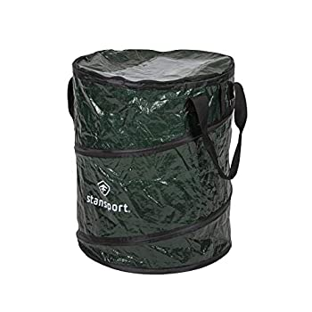 Stansport Collapsible Campsite Carry-All Trash Can Green One Size  877