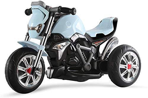 FEE-ZC Kid Safety Kids Ride on Motorcycle, Moto de 3 Ruedas para...