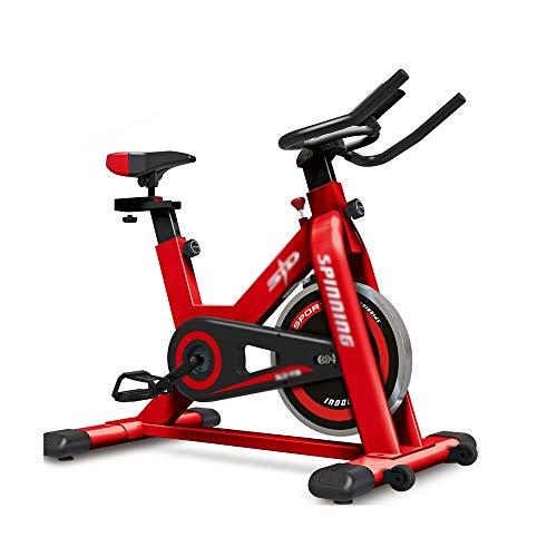 XJWWW-URG Entrenamiento de Interior Inicio Cardio Bicicleta estática, Asiento Ajustable y manillares de Bicicleta Bicicleta de Spinning URG