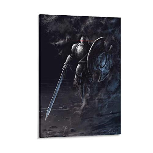 DRAGON VINES Dark Souls 2 Juan Acosta Dark Soul Figurine imprimée pour décoration murale de chambre à coucher 30 x 45 cm