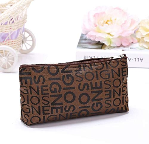 Best Quality - Cosmetic Bags & Cases - fashion portable cosmetic bag beauty zipper travel make up bag letter makeup case pouch toiletry organizer women wash holder - by Maddy - 1 PCs