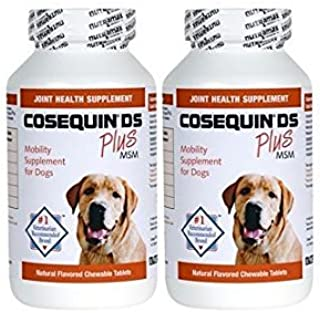 Cosequin® DS Plus MSM 360 Count Joint Health Supplement for Dogs Twin Pack (2 x 180 tablets) Chewable Tablets