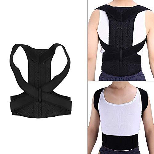 zjchao Geradehalter Rücken Bandage zur Haltungskorrektur bei Rücken Schulterschmerzen Damen und Herren, schulter haltungskorrektur (XL)