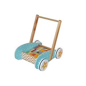 Nenittos Mi Andador de Madera con Actividades: Amazon.es: Juguetes ...