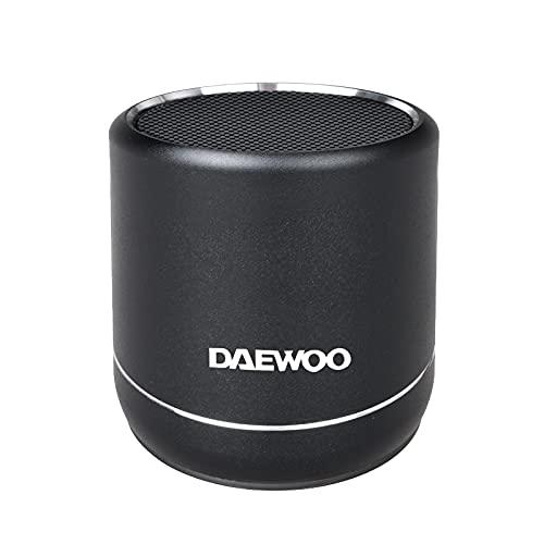 DBT-212 B Altavoz TWS Bluetooth de pequeño tamaño y Gran Potencia Daewoo