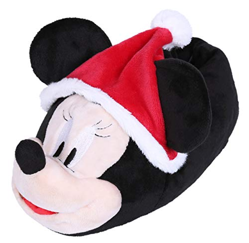 Warme, weihnachtliche Pantoffeln Mickey Mouse 36/37 EU