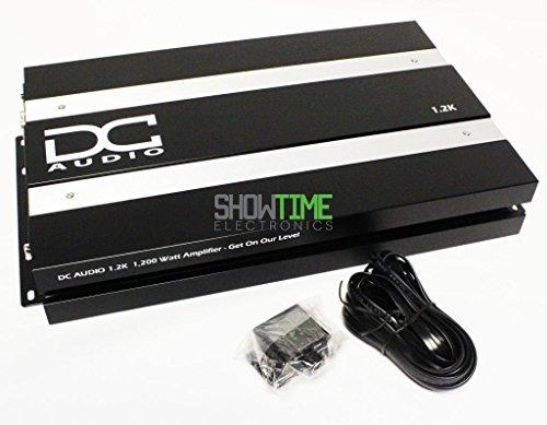 DC Audio DC1.2K-A3 1450W RMS 16V Mono Class D Car Audio Amplifier/Amp+Bass Knob