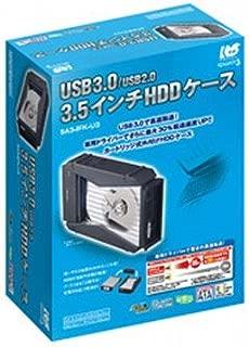 ラトックシステム REX-SATA3シリーズ USB3.0/USB2.0 外付け3.5インチHDDケース SA3-IFK-U3