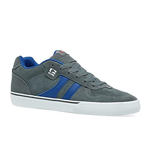 Globe Herren Encore-2 Skate Schuh, Grau (Eisen/Blau), 45 EU