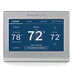 COMFORT COMES IN YOUR COLOR. Personalize your Wi-Fi Smart Color Programmable Thermostat to fit your décor. YOUR SCHEDULE. YOUR WAY. Flexible programming options for your schedule or utility company's peak rate pricing. EASY OPERATION AND INTUITIVE. B...