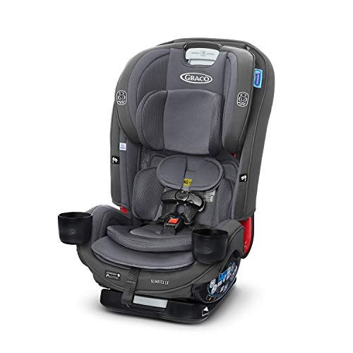 Graco SlimFit3 LX 3 in 1 Car Seat   Space Saving Car Seat Fits 3 Across in Your Back Seat, Kunningham