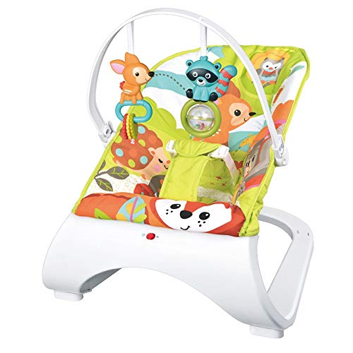 Best Buy! Btybess Baby Bouncer New Baby Vibration Rocking Chair Children's Leisure Lounge Chair Elec...