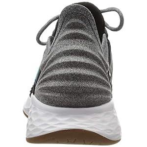 New Balance Women's Fresh Foam Roav V1 Sneaker, BLACK/LIGHT ALUMINUM, 8 M US